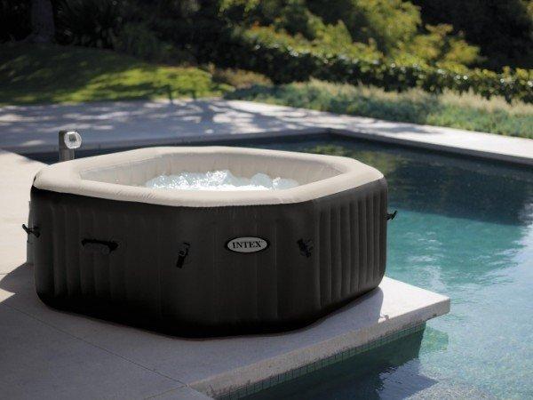 INTEX Whirlpool Pure Spa Bubble Jet & Salzwassersystem 28454