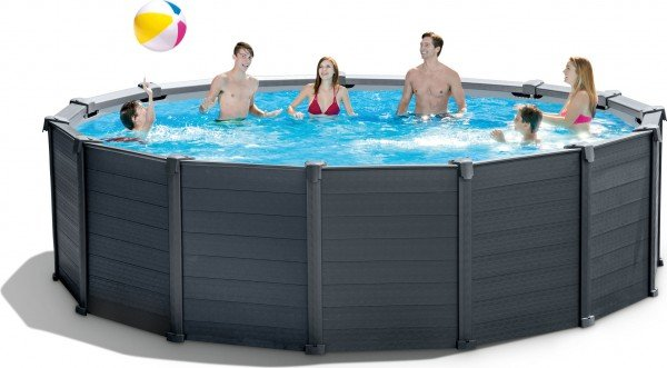 Intex 28384 Graphite Paneel - Frame Pool 478 x 124 / 28382